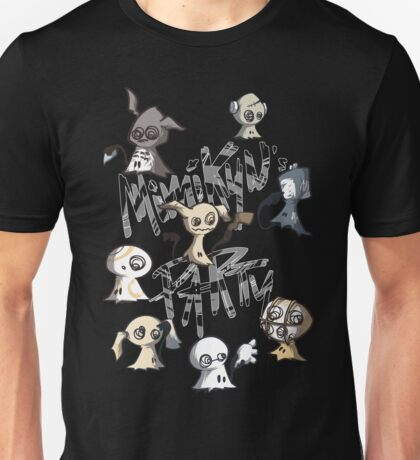 Mimikyu's party Unisex T-Shirt