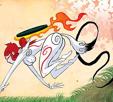 Amaterasu by GuitarAtomik
