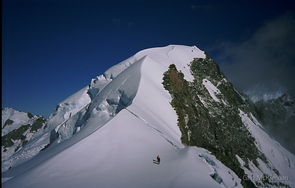 Climbers on Hochstetter Dome by GaryMcKiernan