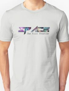 The Final Frontier - Space T-Shirt
