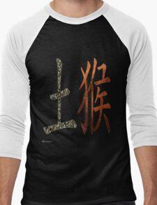 Earth Monkey 1908 and 1968 Men's Baseball ¾ T-Shirt