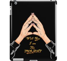 Well Yes I am The Tyrant iPad Case/Skin