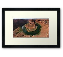 Horseshoe Bend Framed Print