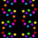 POLKA DOT PRINT MULTICOLORED by Tammera