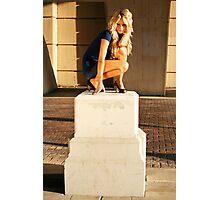 Statuesque Photographic Print