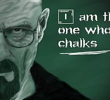 I am the one who chalks by eegamluap