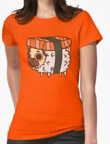 Puglie Sushi Womens Fitted T-Shirt