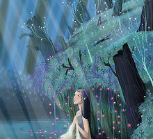 Lady of the lake by davidpavon
