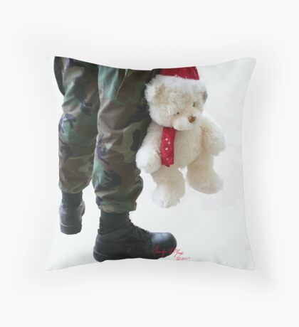 BDU Bear Throw Pillow