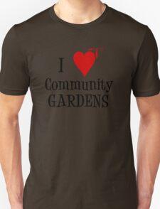Community Garden Lover with peas Unisex T-Shirt