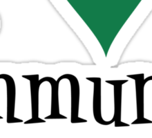 Community Garden Lover Green Sticker
