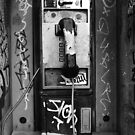 Phone Booth - New Orleans, LA by Daniel  Rarela