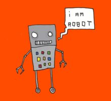 i am robot Kids Tee