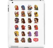 Puglie Heroes & Villains iPad Case/Skin