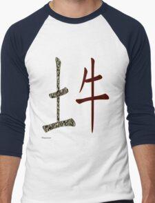 Earth Ox  1949 and 2009 Men's Baseball ¾ T-Shirt