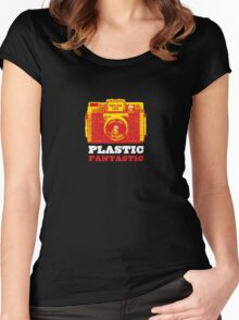 Plastic Fantastic - HOLGA Women's Fitted Scoop T-Shirt