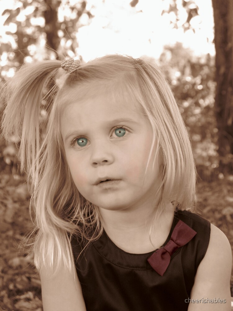 Portrait Of A Little Lady by cheerishables
