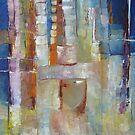 """ART by bec """"Fancy Hat in the City"""" by ARTbybec"""