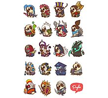 Puglie League of Legends Vol.1 Photographic Print