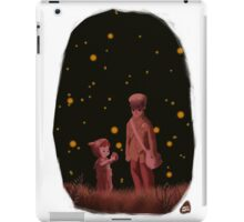 The grave of the fireflies iPad Case/Skin