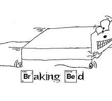 Braking Bed (B&W) by pictoverse