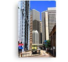 City of Colors VI - Hong Kong. Canvas Print