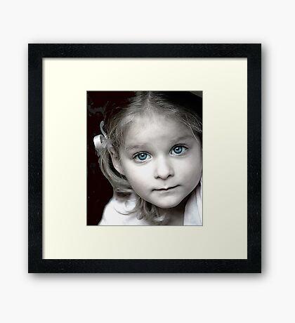 Ebony Framed Print