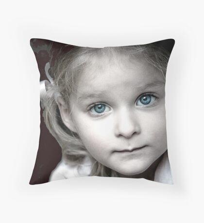 Ebony Throw Pillow