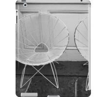 Two White Chairs - New Orleans, LA iPad Case/Skin