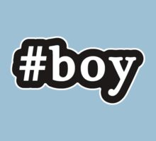 Boy - Hashtag - Black & White Kids Clothes