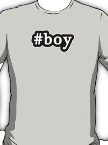 Boy - Hashtag - Black & White T-Shirt