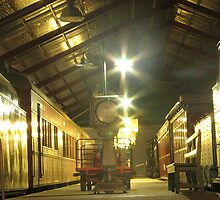 break of gauge at night by andrew peters