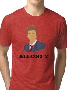 ALLONS-Y Tri-blend T-Shirt