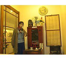 telephone exchange Photographic Print