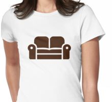 Sofa Womens Fitted T-Shirt