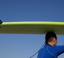 the surfer by stickelsimages