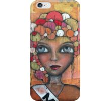 True Beauty Original art by Angieclementine iPhone Case/Skin