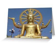 Koh Samui - Big Buddha Greeting Card