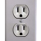 Electric Wall Outlet by Schoolhouse62