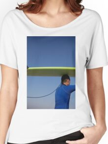 the surfer Women's Relaxed Fit T-Shirt