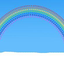 Snowflakes Rainbow by Joe Bolingbroke