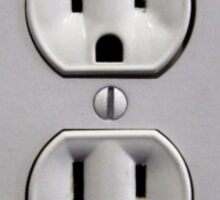 Electric Wall Outlet Sticker