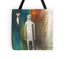 i like to swim Tote Bag