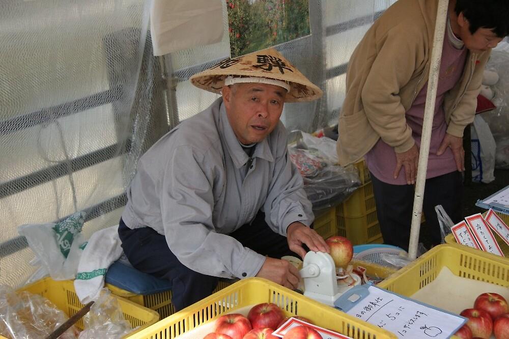 Takayama - Morning markets by Trishy