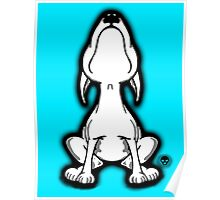 English Bull Terrier Stretch  Poster
