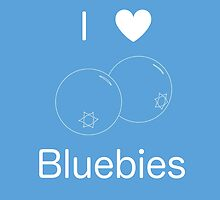 I Heart Bluebies by Mattison Warren
