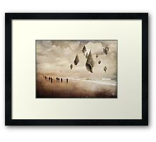 Floating Giants Framed Print