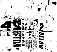 42 Below Bottles Shot  by GetCarter
