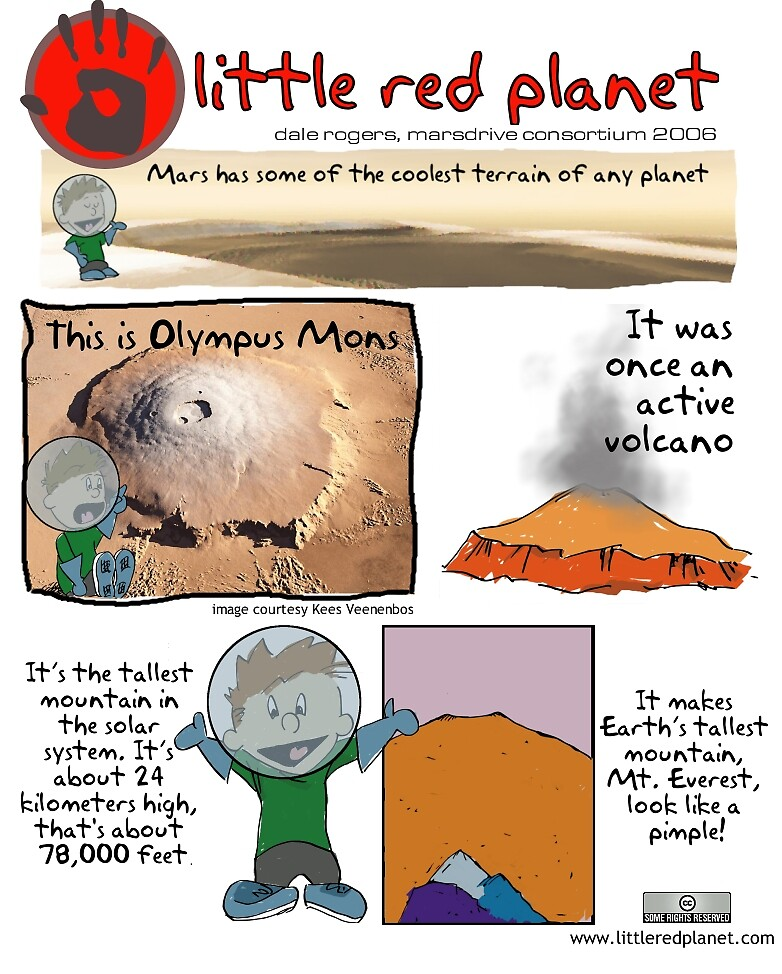 Olympus mons by dale rogers