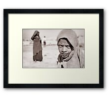 Desert Eyes Framed Print
